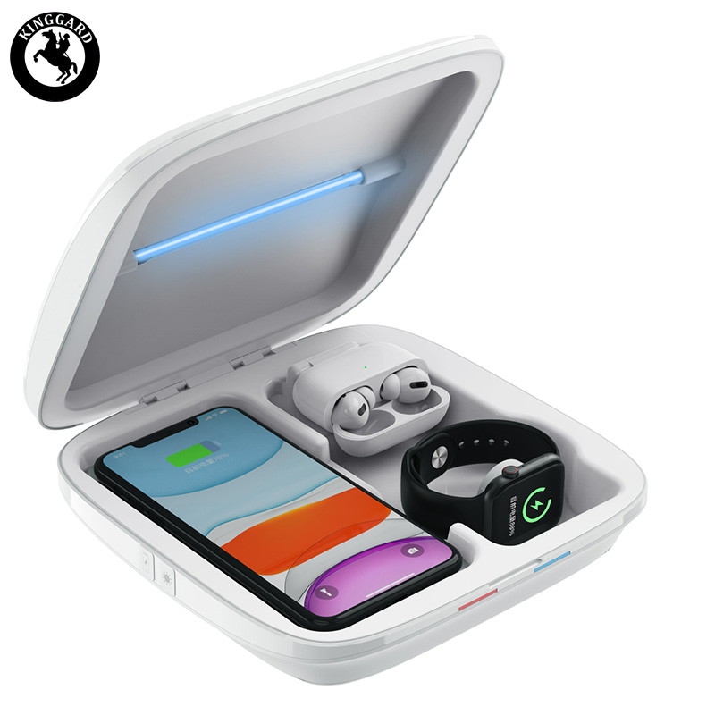 wireless charger UV light sterilizer box