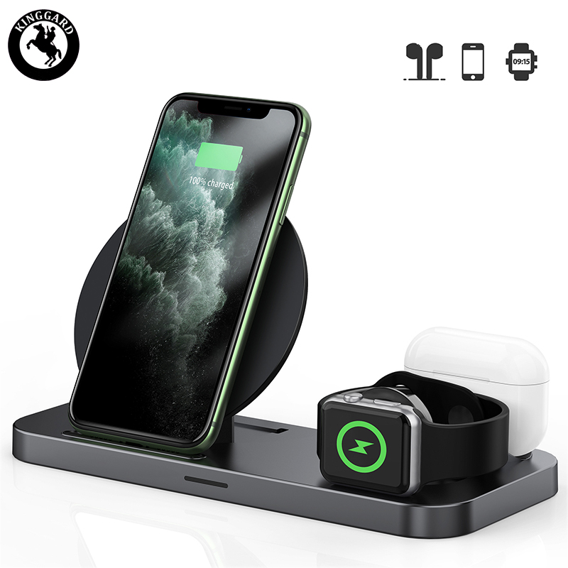 foldeable 3 in  1 wireless charger
